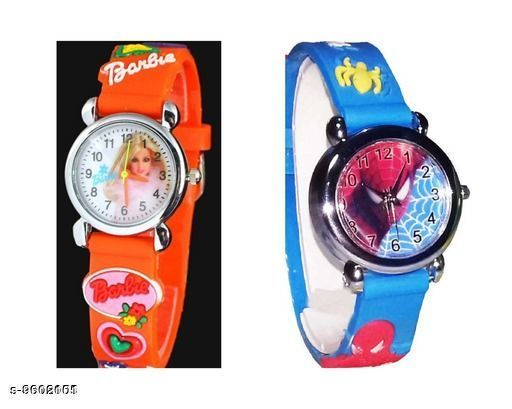 Watches Attractive Kid's Watch  *Display* Analogue  *Sizes*  Free Size  *Sizes Available* Free Size *    Catalog Name: Fancy Kids Unisex Watches CatalogID_1697044 C63-SC1197 Code: 391-9602101-
