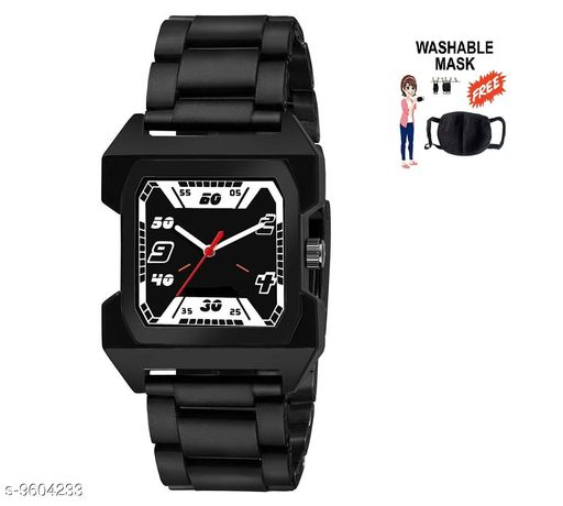 lambent ft black men's watch