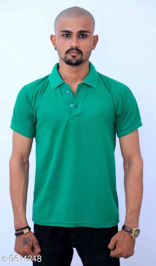 Active Tshirts Men's Sports Wear Tshirt  *Fabric* Lycra  *Sizes*   *M (Chest Size* 36 in, Length Size  *Sizes Available* M, L, XL, XXL *    Catalog Name: Classy Latest Men Tshirts CatalogID_1699059 C70-SC1403 Code: 703-9611248-