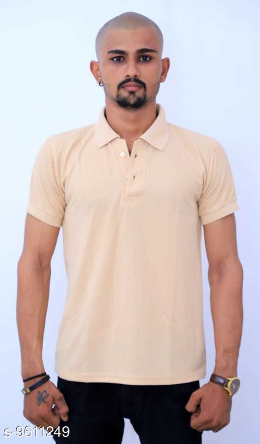 Active Tshirts Men's Sports Wear Tshirt  *Fabric* Lycra  *Sizes*   *M (Chest Size* 36 in, Length Size  *Sizes Available* M, L, XL, XXL *    Catalog Name: Classy Latest Men Tshirts CatalogID_1699059 C70-SC1403 Code: 703-9611249-