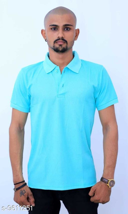 Active Tshirts Men's Sports Wear Tshirt  *Fabric* Lycra  *Sizes*   *M (Chest Size* 36 in, Length Size  *Sizes Available* M, L, XL, XXL *    Catalog Name: Classy Latest Men Tshirts CatalogID_1699059 C70-SC1403 Code: 703-9611251-