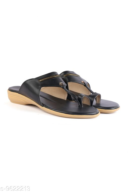 Flats Women Fashion Sandals  *Material* Synthetic  *Sizes*  IND-5  *Sizes Available* IND-5 *    Catalog Name: Relaxed Attractive Women Flats CatalogID_1701461 C75-SC1071 Code: 794-9622213-