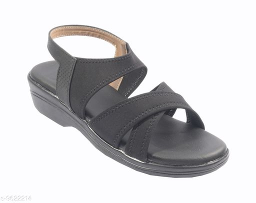 Flats Women Fashion Sandals  *Material* Textile  *Sizes*  IND-6  *Sizes Available* IND-6 *    Catalog Name: Relaxed Attractive Women Flats CatalogID_1701461 C75-SC1071 Code: 794-9622214-