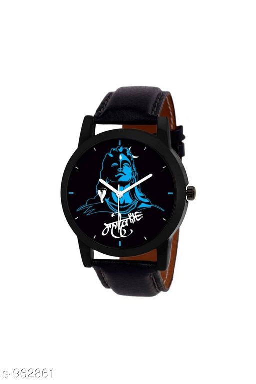 Attractive Analog Leather Watch