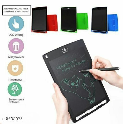 Stationaries  writing doodle tablet   writing doodle tablet   *size * (l*b)  *Sizes Available* Free Size *   Catalog Rating: ★3 (4)  Catalog Name: Stationaries CatalogID_1703748 C63-SC1321 Code: 884-9632078-