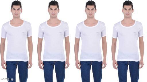 Innerwear Vests Mens Cotton Vest  *Fabric* Cotton  *Multipack* 4  *Sizes*   *M (Length Size* 26 in)  *Sizes Available* M *    Catalog Name: Stylus Men Vest CatalogID_1705269 C68-SC1217 Code: 454-9638139-