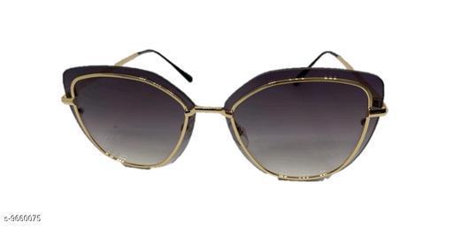 Sunglasses fancy sunglasses for women  *Frame Material* Metal  *Sizes*   *Sizes Available* Free Size *    Catalog Name: Fashionable Modern Women Sunglasses CatalogID_1710520 C72-SC1084 Code: 773-9660075-