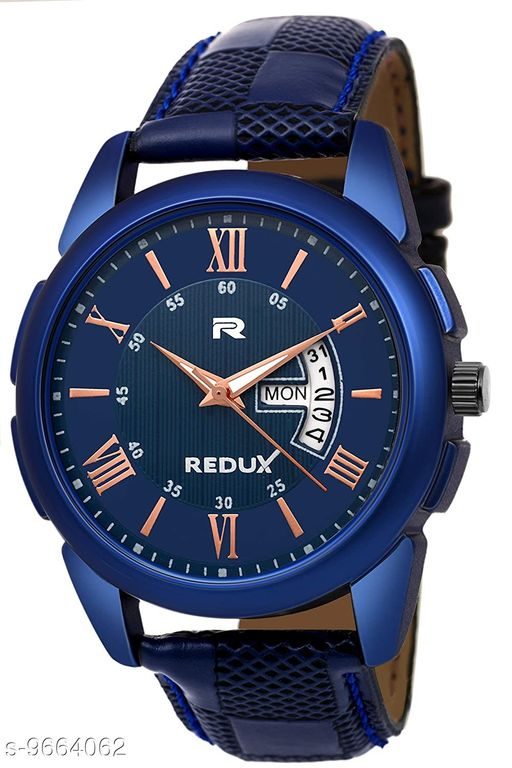 Blue  Dial Men's & Boy's Watch with Day Date Display ( PCS 1 )