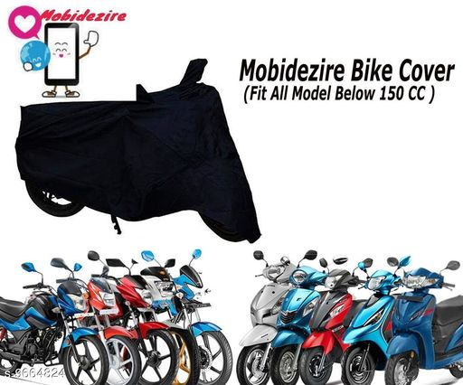 Mobidezire Bike/Scooty Body cover For Indian(Below 150 cc)