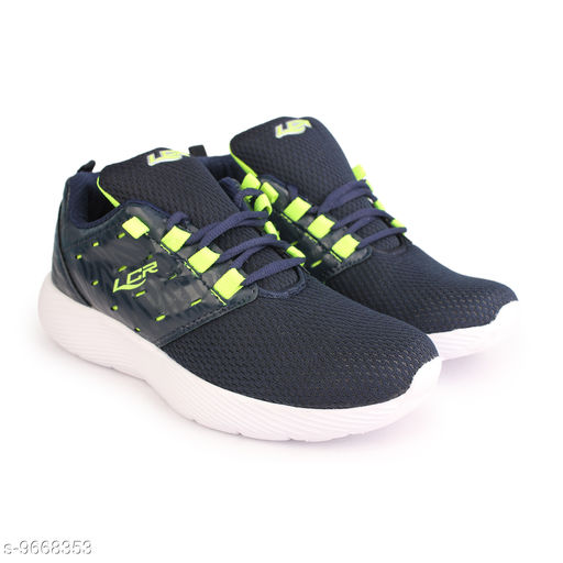 Sports Shoes & Floaters Lancer Running Training & Gym Shoes For Men  *Material* Mesh  *Sizes*  IND-9  *Sizes Available* IND-9 *    Catalog Name: Fancy Trendy Women Sports Shoes CatalogID_1712287 C75-SC1072 Code: 957-9668353-