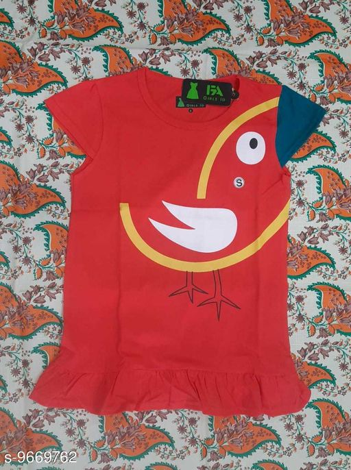 Tshirts NEW MODERN TOPS  *Fabric* Cotton  *Multipack* Single  *Sizes*  12-13 Years  *Sizes Available* 12-13 Years *    Catalog Name: Tinkle Fancy Girls Tshirts CatalogID_1712567 C62-SC1143 Code: 712-9669762-