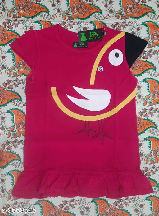 Tshirts NEW MODERN TOPS  *Fabric* Cotton  *Multipack* Single  *Sizes*  12-13 Years  *Sizes Available* 12-13 Years *    Catalog Name: Pretty Elegant Girls Tshirts CatalogID_1712577 C62-SC1143 Code: 712-9669825-