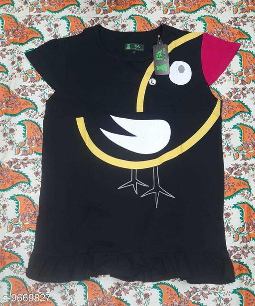 Tshirts NEW MODERN TOPS  *Fabric* Cotton  *Multipack* Single  *Sizes*  12-13 Years  *Sizes Available* 12-13 Years *    Catalog Name: Pretty Elegant Girls Tshirts CatalogID_1712577 C62-SC1143 Code: 712-9669827-