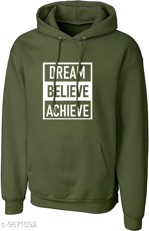 Divra Clothing Unisex Regular Fit DBA Printed Cotton Hoodie