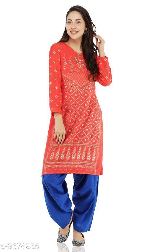UNICO Women's Solid Cotton Patiala Salwars