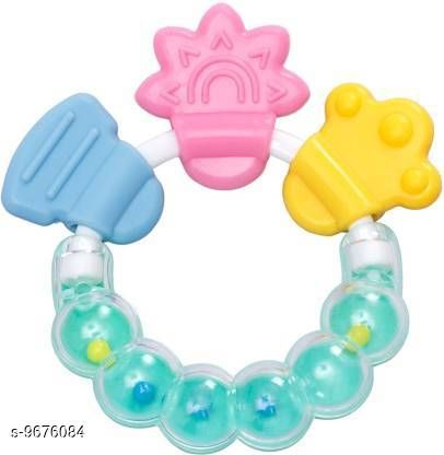 Tiny Tycoonz Fancy Baby Teather Soother with Rattle