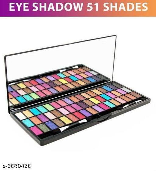 Beautiful Eye Shadow 51 Colour Shades in 1 Plate Pressed Powder 51 Gm