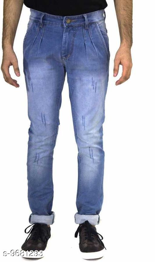 Jeans Fancy Jeans  *Fabric* Denim  *Multipack* 1  *Sizes*  30,32, 34  *Sizes Available* 30, 32, 34 *    Catalog Name: Casual Latest Men Jeans CatalogID_1714942 C69-SC1211 Code: 1011-9681293-