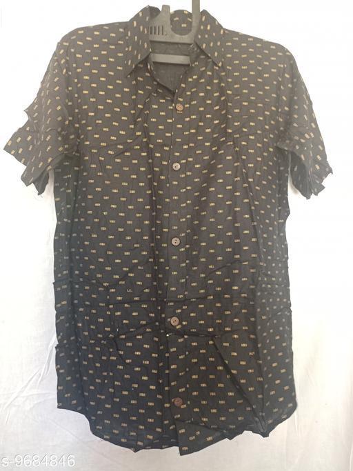 Shirts men shirts  *Fabric* Rayon  *Sizes*  L  *Sizes Available* L *    Catalog Name: Stylish Retro Men Shirts CatalogID_1715722 C70-SC1206 Code: 113-9684846-