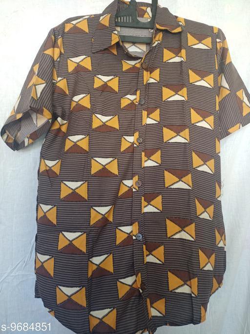 Shirts men shirts  *Fabric* Rayon  *Sizes*  L  *Sizes Available* L *    Catalog Name: Stylish Retro Men Shirts CatalogID_1715722 C70-SC1206 Code: 113-9684851-