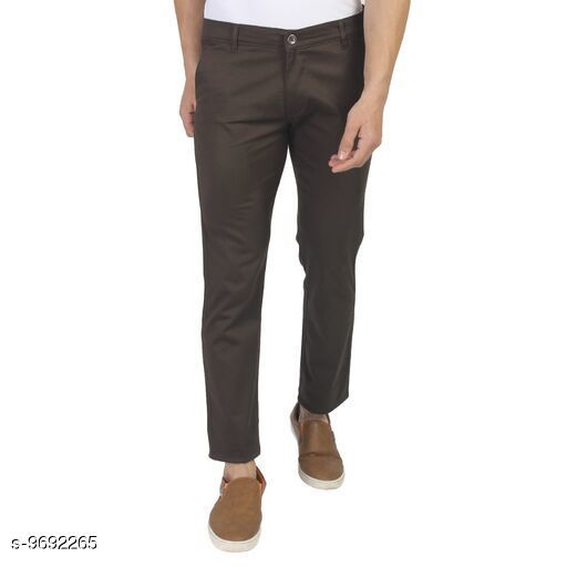 Trousers Designer Glamarous Men Trousers Designer Glamarous Men Trousers Product Name - Men Trouser Fabric - Cotton Size - 28/30/32/34 Multipack - 01 Pc  *Sizes Available* 28, 30, 32, 34, 36 *    Catalog Name: Designer Glamarous Men Trousers CatalogID_1717296 C69-SC1212 Code: 146-9692265-