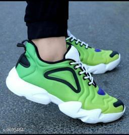 Stylish Men's EVA Green Sports Shoes