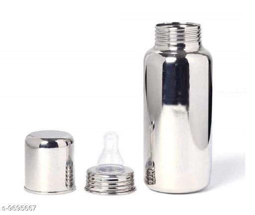 Stainless Steel Baby Feeding Bottle, Milk Feeding, Water Feeding 250 ml