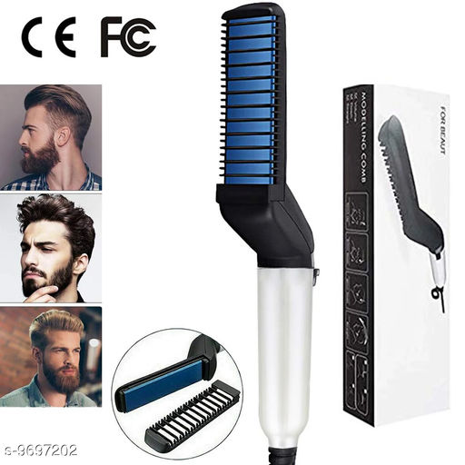 Tools & Accessories Gabbar Modelling Comb Men Hair Styler, Beard Styler Hair Comb With Hair Straightener Pack of 2  *Product Name* Gabbar Modelling Comb Men Hair Styler, Beard Styler Hair Comb With Hair Straightener Pack of 2  *Material* Plastic  *Multipack* 2  *Sizes Available* Free Size *    Catalog Name:  Proffesional Unique Hair Combs CatalogID_1718398 C50-SC1250 Code: 726-9697202-