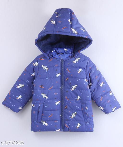 Beebay Boys Space Print Jacket (Blue)