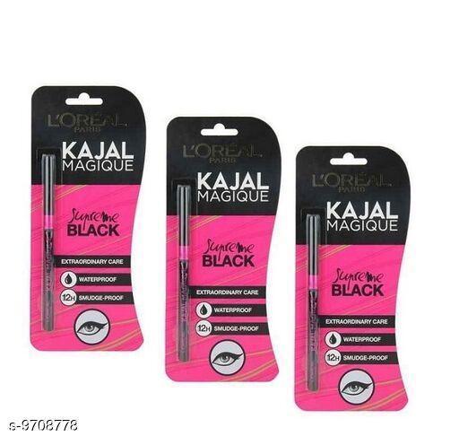 Eye Care Lakme Eyeconic Kajal  *Product Name* Lakme Eyeconic Kajal  *Brand* Lakme  *Product  Type* Kajal  *Multipack* 3  *Capacity* 20gm  *Sizes Available* Free Size *    Catalog Name: Lakme  Eyeconic Kajal CatalogID_1721107 C52-SC1310 Code: 972-9708778-