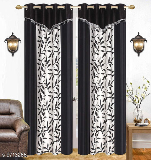 Curtains & Sheers Kolaveri4V  *Material* Polyester  *Multipack* 2  *Sizes* 5 Feet (Length Size  *Sizes Available* 5 Feet *    Catalog Name: Elite Classy Curtains & Sheers CatalogID_1722144 C54-SC1116 Code: 984-9713266-