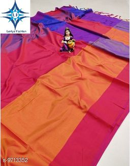 New Arrival Daily Wear Premium  Collection Silk Saree Under 299