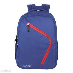 Satellite 30 liter Casual Waterproof Laptop Bag for Men Women Boys Girls Office School College Teens & Students Blue