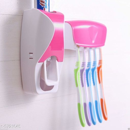 Toothpaste Dispenser Toothpaste Dispenser   *Pack* Pack of 1  *Sizes Available* Free Size *    Catalog Name: Classy Toothpaste Dispenser CatalogID_1723902 C132-SC1584 Code: 303-9721645-