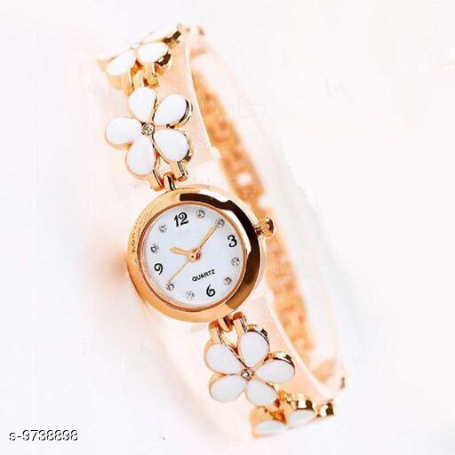 LATEST ANALOGUE STAINLESS STEEL WATCHES FOR GIRLS