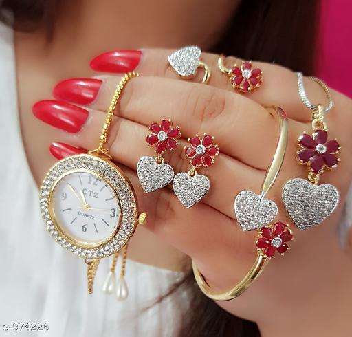 Beautiful Stone work Jewelry Set