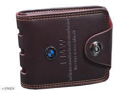 Trendy Men's Black Wallet