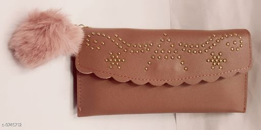 Wallets Wallet  *Material* Leather  *Multipack* 1  *Sizes* Free Size (Length Size  *Sizes Available* Free Size *    Catalog Name: StylesUnique Women Wallets CatalogID_1729134 C73-SC1076 Code: 662-9745712-