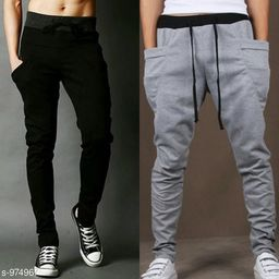 Men's Casual Solid Track Pant