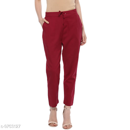 Trousers & Pants Darzaania  *Fabric* Cotton  *Size * XL  *Sizes Available* 32 *    Catalog Name: Stylish Retro Women Women Trousers  CatalogID_1730949 C79-SC1034 Code: 065-9753127-