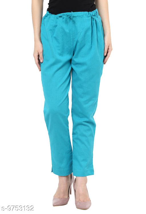 Trousers & Pants Darzaania  *Fabric* Cotton  *Size * XL  *Sizes Available* 32 *    Catalog Name: Stylish Retro Women Women Trousers  CatalogID_1730949 C79-SC1034 Code: 065-9753132-