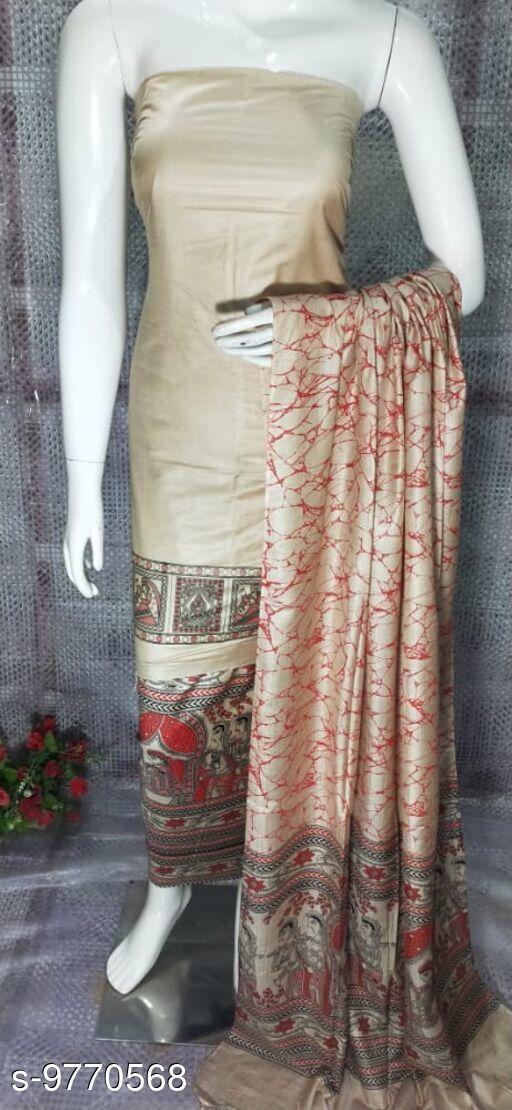Stylish Cottin Silk Suit
