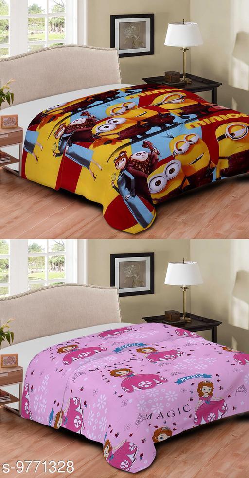 Blankets, Quilts & Dohars Comfortable Printed Single Blanket v  *Sizes Available* Free Size *    Catalog Name: Ravishing Classy Blankets CatalogID_1735162 C53-SC1102 Code: 298-9771328-