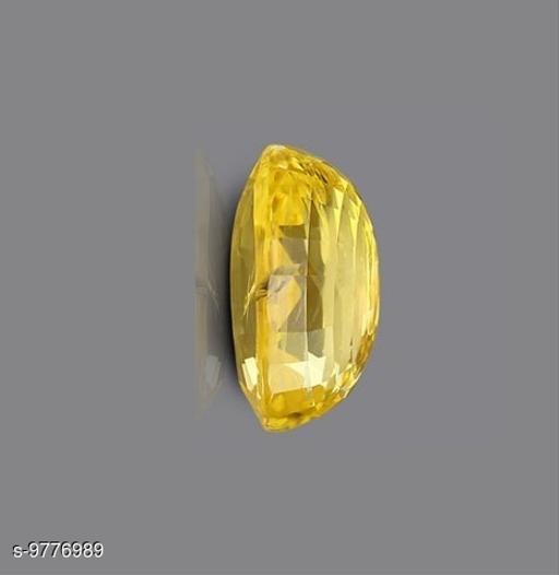 Yellow Sapphire 10.00 ct./11 Ratti Yellow sapphire/Pukhraj Marka Natural Gemstone