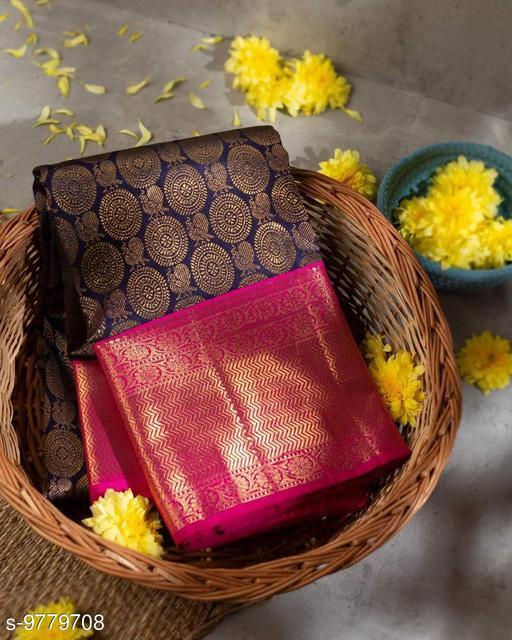 kanjeevaram  fancy silk saree