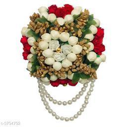 Maahal Flower Hair Juda/Bun,Accessores For Girls,Women Pack-01,(Color-Multi)