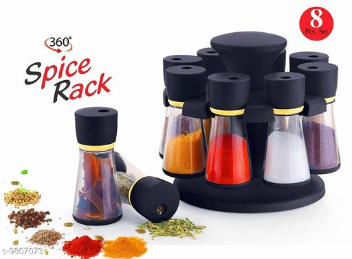 Racks & Holders Trendy Spices Rack  *Material* Plastic  *Pack* Pack of 3  *Sizes Available* Free Size *    Catalog Name:  Spice Rack CatalogID_1606647 C130-SC1640 Code: 096-9807073-