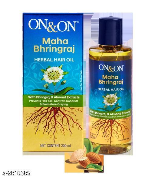 0n & 0n Maha Bhringraj Herbal Hair Oil