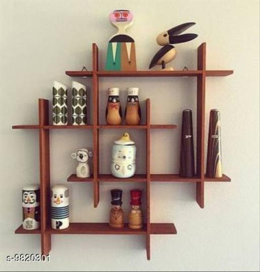Wooden Decorative Shelf