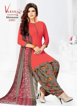 Stylish Synthetic Suits & Dress Material